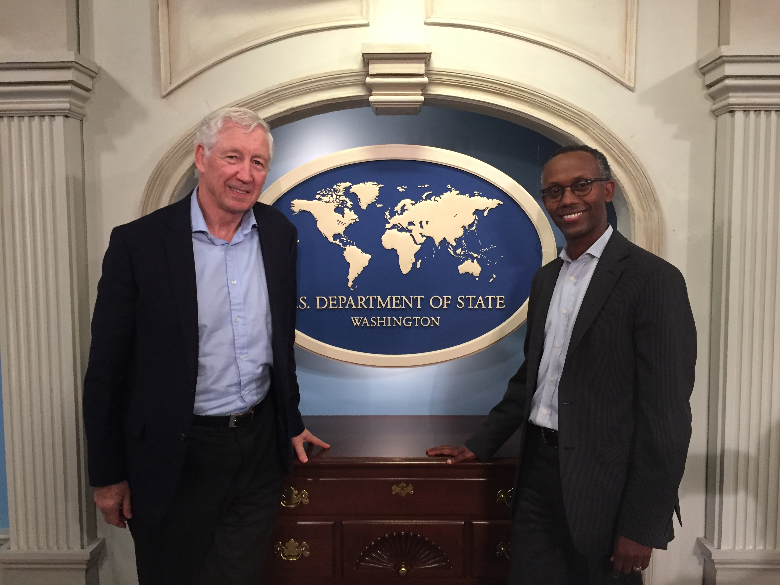 Conversation With The Special Representative For Global Partnerships At US Department Of State