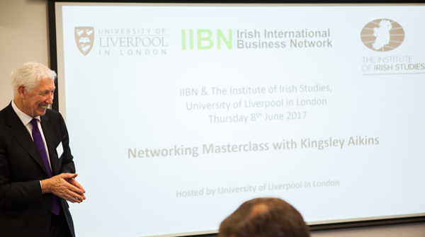 Networking Masterclass For The Irish International Business Network