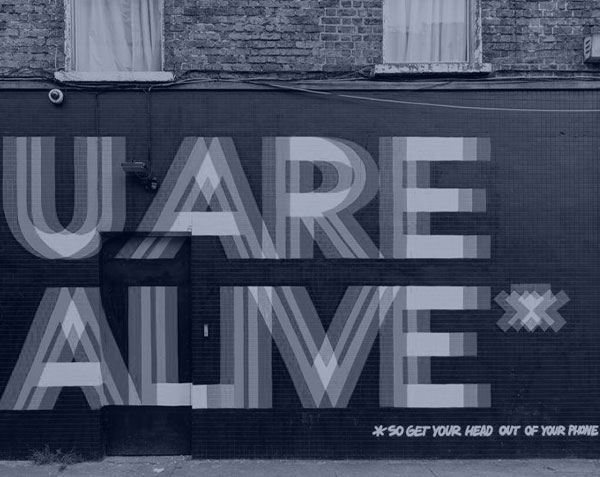 You Are Alive Mural - Maser Art